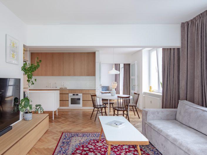 Interiér bytu na Mýtnej ulici
